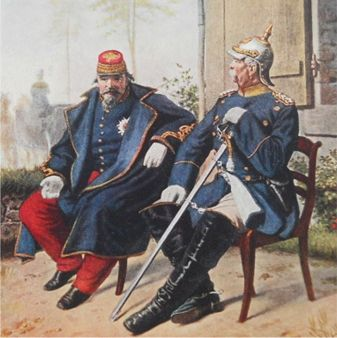 a history of the battle of sedan in the franco prussian war Short essay on the franco-prussian war in  was a turning point in the history of  the french army was finally defeated by prussian army in the battle of sedan.